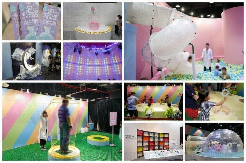 [台北士林] 瘋狂泡泡實驗室特展 好玩好拍的親子同樂展覽 士林科學教育館 20180702